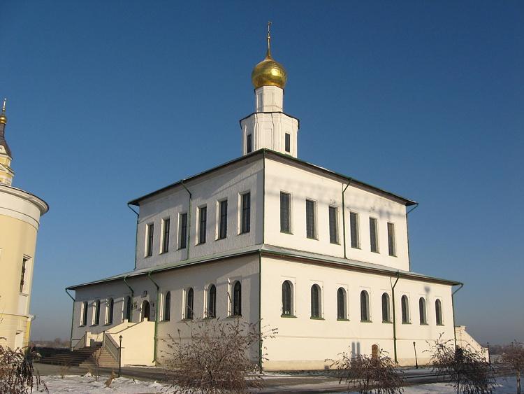 Богоявленский Старо-Голутвин монастырь. Собор Богоявления Господня, Коломна