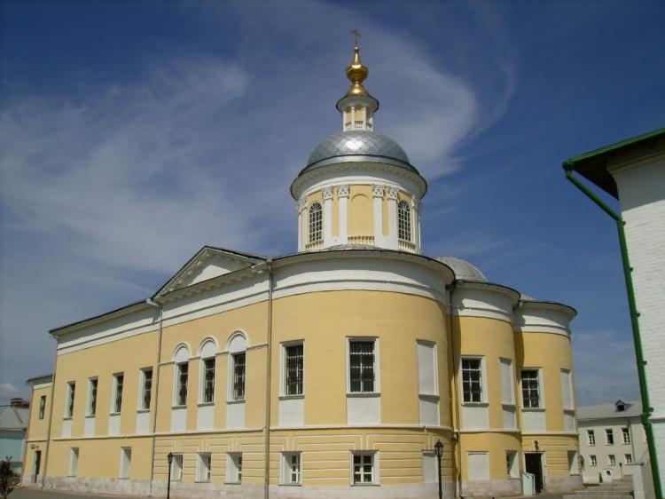 Богоявленский Старо-Голутвин монастырь. Церковь Сергия Радонежского, Коломна