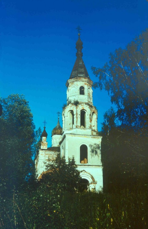 Церковь Спаса Нерукотворного Образа, Сергино (Фатьяново)