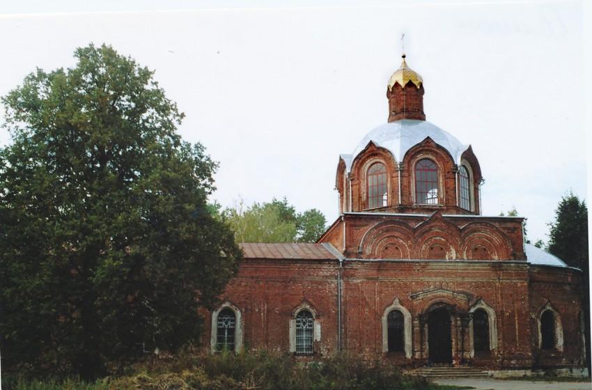 Рязанская область, Кораблинский район, Семион. Церковь Симеона Столпника, фотография. фасады