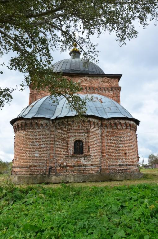 Церковь Димитрия Солунского, Морево