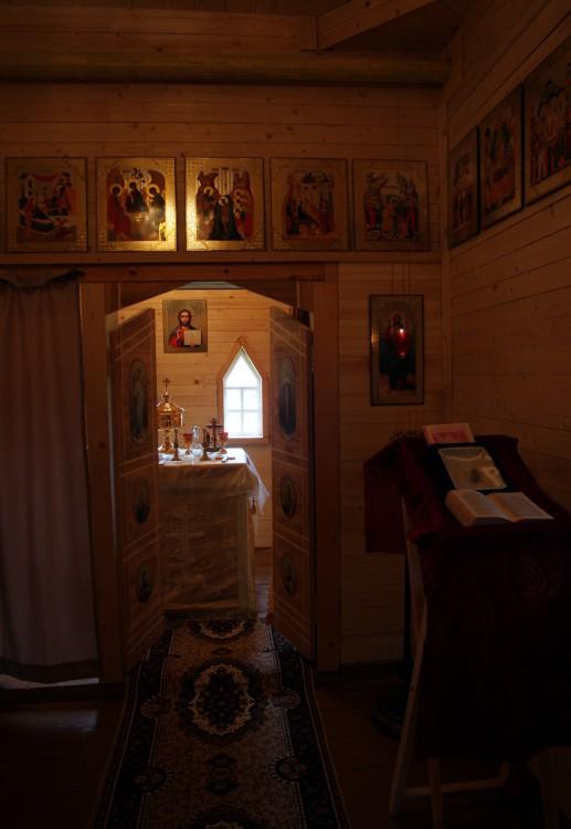 Вологодская область, Белозерский район, Никиткино. Церковь Илии Пророка, фотография. интерьер и убранство