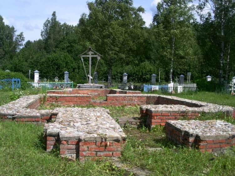 Церковь Спаса Нерукотворного Образа, Спас-Волжинский погост