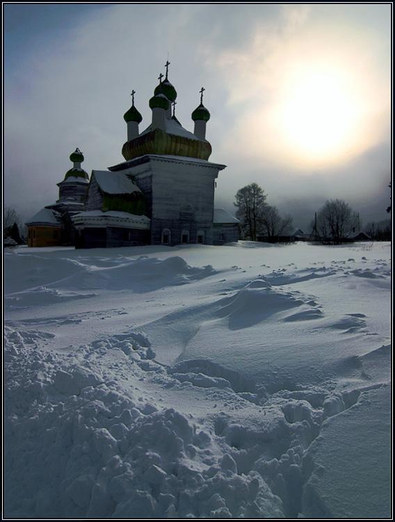 Церковь Михаила Архангела, Шелоховская (Архангело)