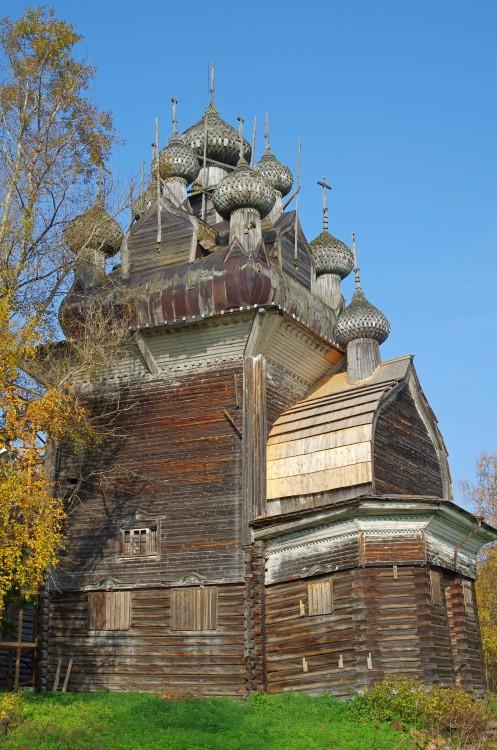 Церковь Рождества Пресвятой Богородицы (Николая Чудотворца), Бережная Дуброва