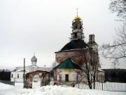 Зимёнки. Храмовый комплекс. Церкви Илии Пророка и Рождества Пресвятой Богородицы