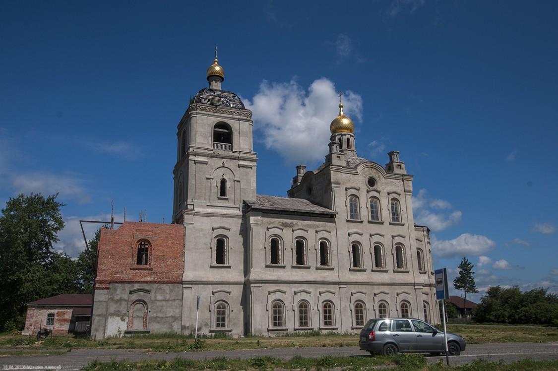 Церковь Савватия Соловецкого и Николая Чудотворца, Усть-Суерское