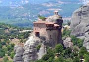 Греция, Фессалия (Θεσσαλία), Метеоры (Μετέωρα), ??колая Анапавсаса, монастырь