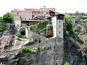 Метеоры (Μετέωρα). Спасо-Преображенский монастырь