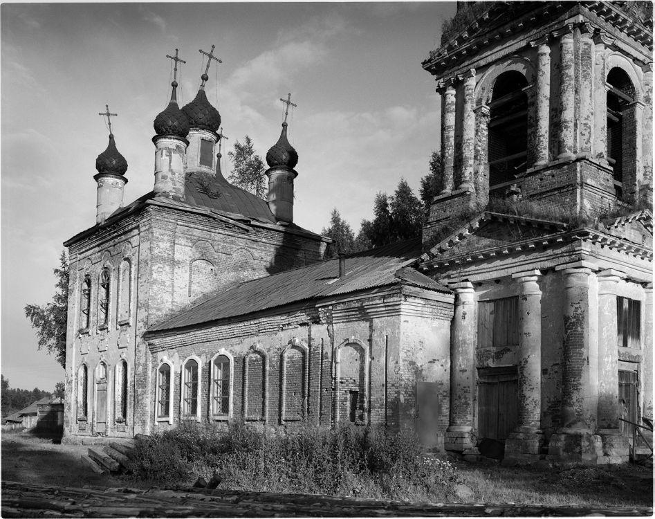 Ярославская область, Некоузский район, Лацкое. Церковь Вознесения Господня, фотография.