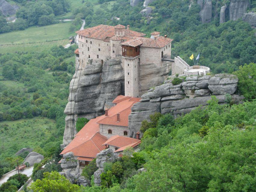 Варвары великомученицы, монастырь, Метеоры (Μετέωρα)
