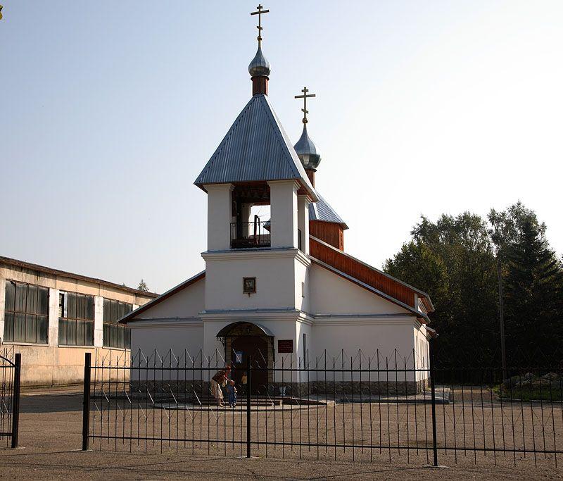 Смоленская область, Смоленский район, Пригорское. Церковь Георгия Победоносца, фотография. фасады,