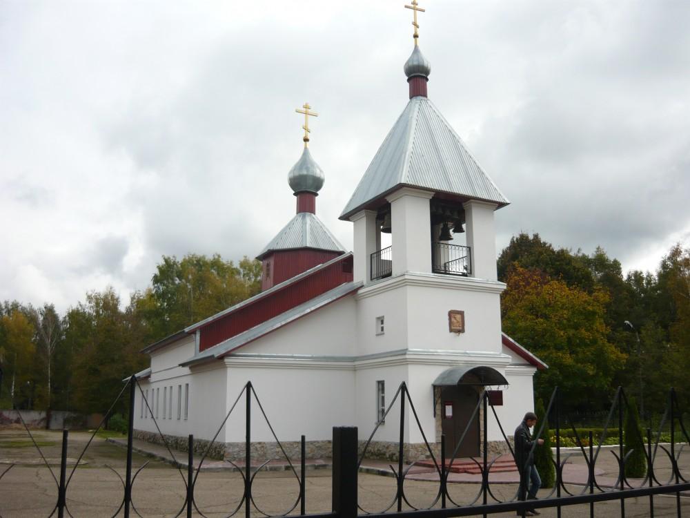 Смоленская область, Смоленский район, Пригорское. Церковь Георгия Победоносца, фотография. фасады