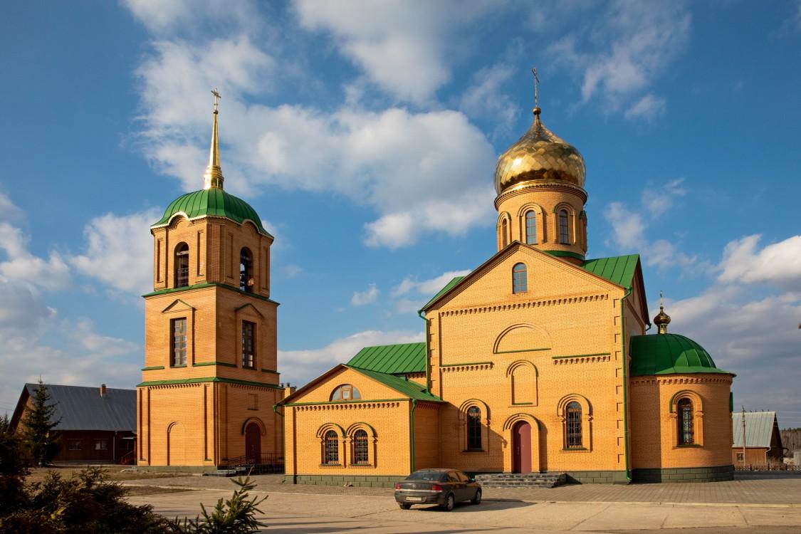 Тульская область, Алексин, город, Колюпаново. Казанский женский монастырь, фотография. фасады