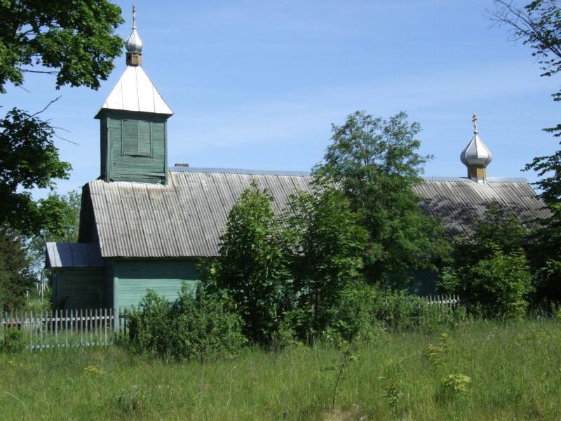 Латвия, Даугавпилсский край, г. Даугавпилс, Данишевка. Моленная Покрова Пресвятой Богородицы, фотография. фасады