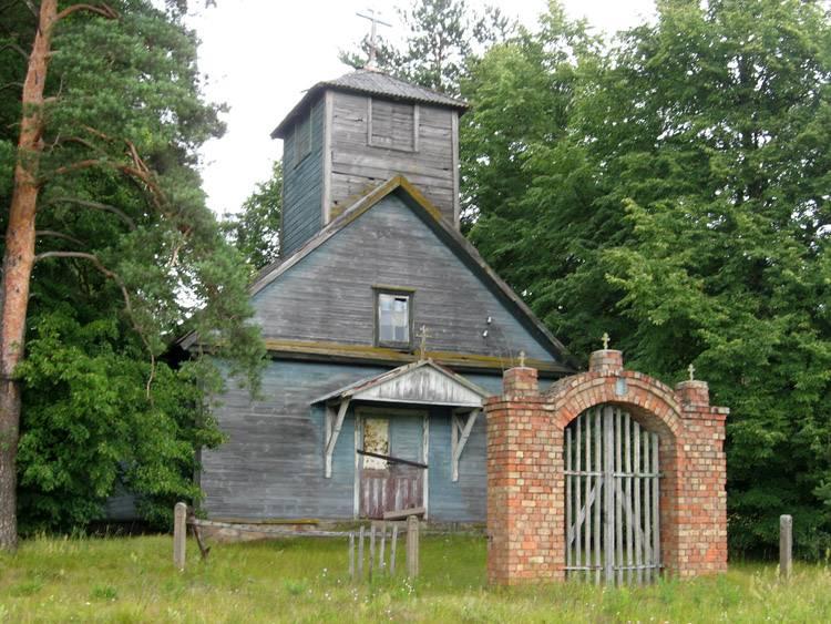 Латвия, Даугавпилсский край, г. Даугавпилс, Вилькели. Неизвестная старообрядческая моленная, фотография. фасады, Западный фасад