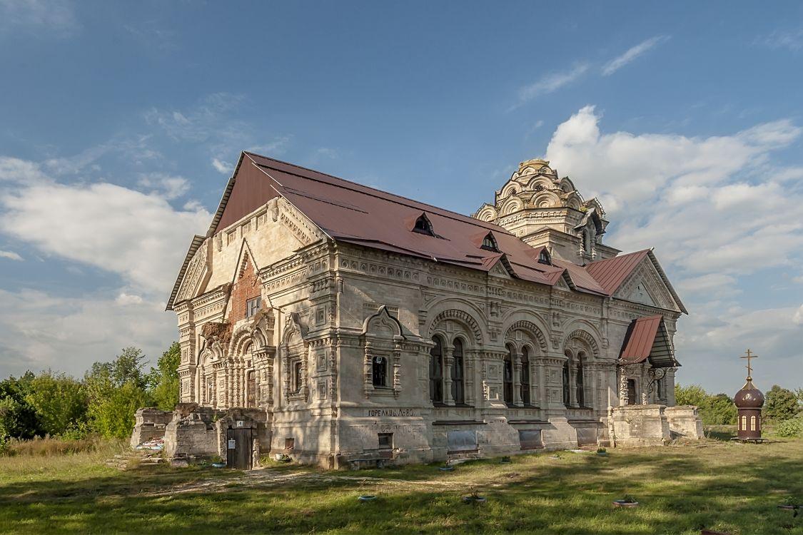 Липецкая область, Данковский район, Берёзовка. Церковь Димитрия Солунского, фотография.
