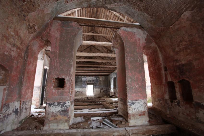 Церковь Спаса Нерукотворного Образа, Бакланово