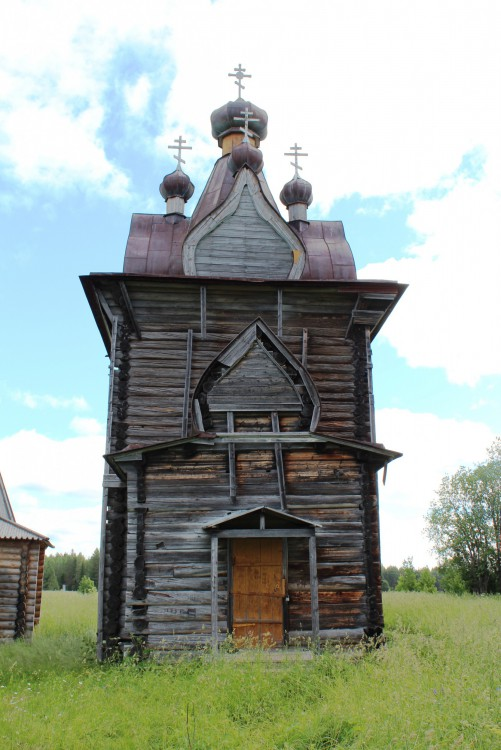 Артемиев Веркольский монастырь. Церковь Илии Пророка, Веркола (Новый Путь)