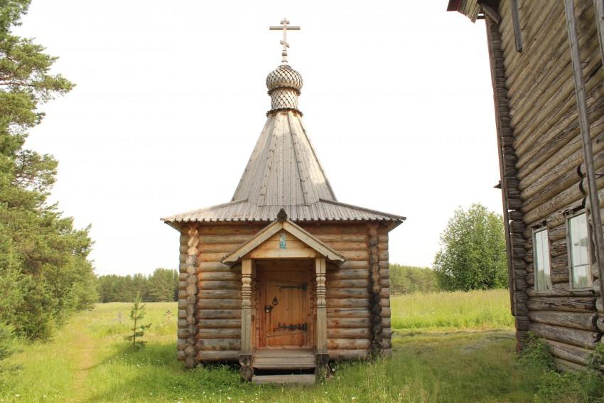 Артемиев Веркольский монастырь. Часовня Артемия Веркольского, Веркола (Новый Путь)