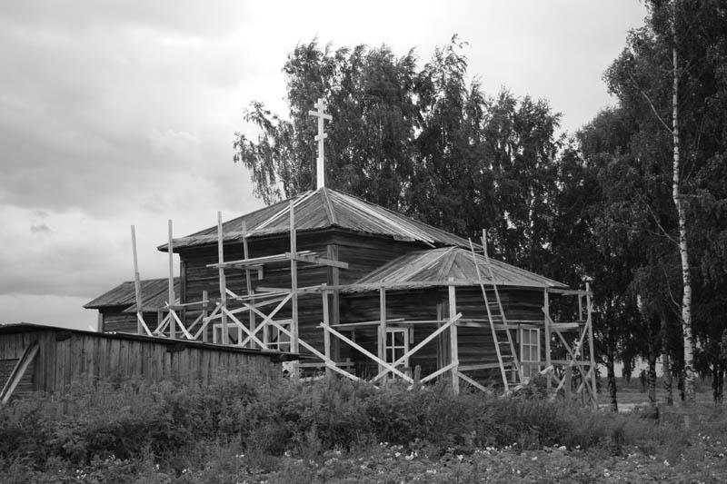 Церковь Георгия Победоносца, Шидрово