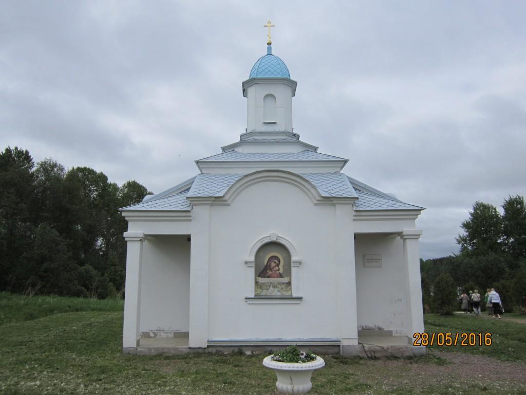 Покрово-Тервенический женский монастырь. Неизвестная часовня, Тервеничи