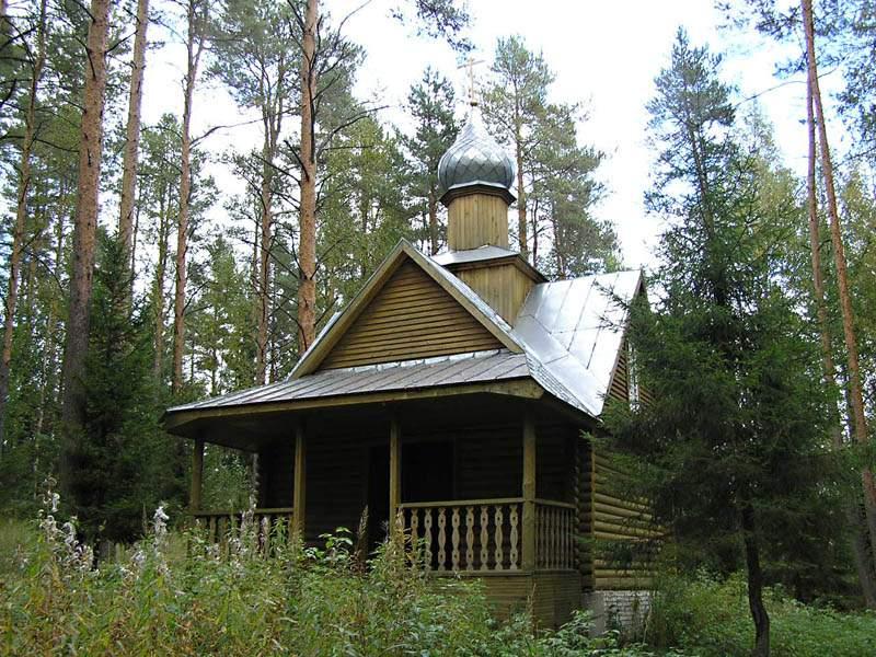 Покрово-Тервенический женский монастырь. Часовня Воскресения Христова на монастырском кладбище, Тервеничи