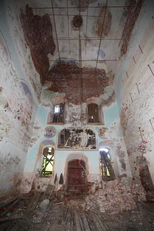 Вологодская область, Устюженский район, Никифорово. Церковь Параскевы Пятницы, фотография.