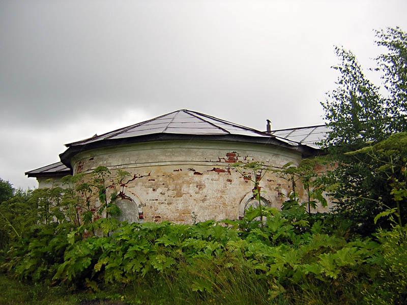 Вологодская область, Устюженский район, Никола. Церковь иконы Божией Матери