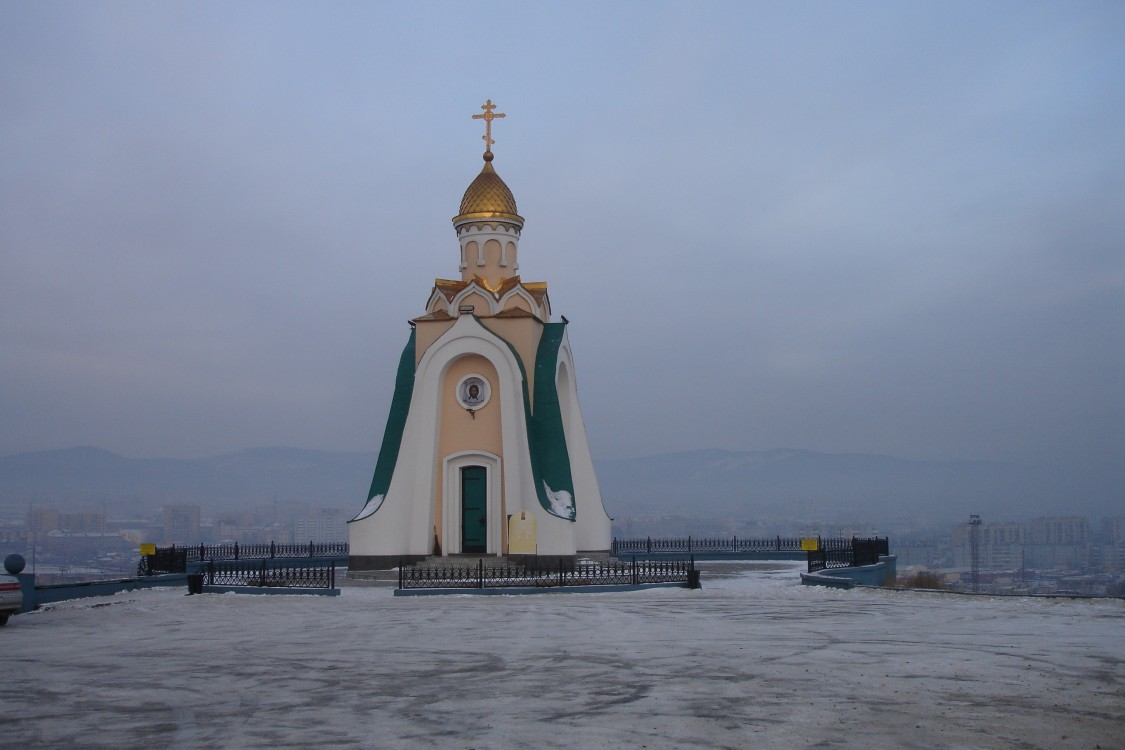 Забайкальский край, Чита, город, Чита. Часовня Александра Невского, фотография. фасады