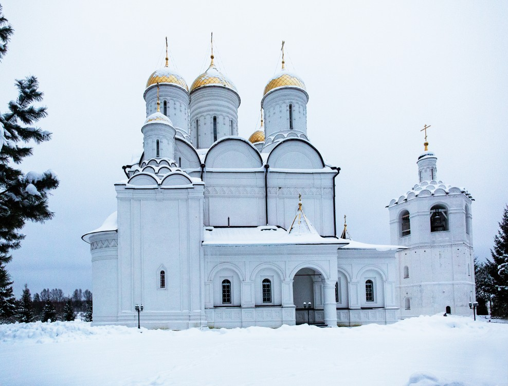 Троицкий Герасимо-Болдинский мужской монастырь. Собор Троицы Живоначальной, Болдино