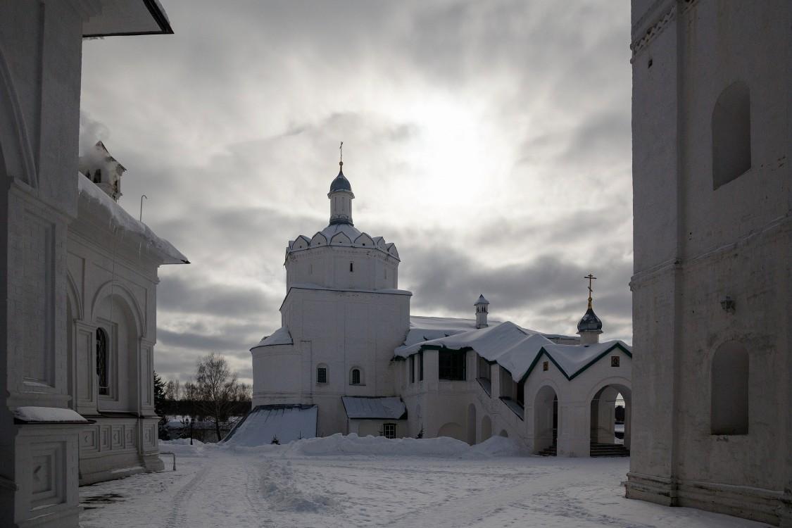 Троицкий Герасимо-Болдинский мужской монастырь. Церковь Введения во храм Пресвятой Богородицы, Болдино