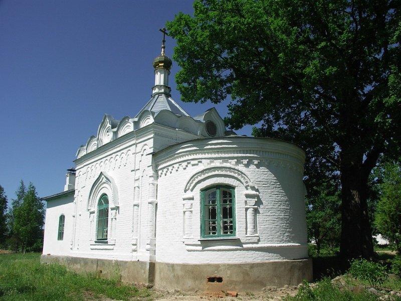 Троицкий Герасимо-Болдинский мужской монастырь. Церковь Тихона Задонского, Болдино