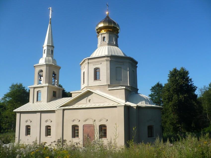 Тульская область, Алексин, город, Фомищево. Церковь Николая Чудотворца, фотография. фасады