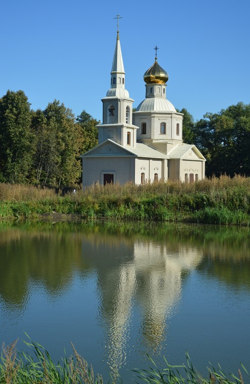 Тульская область, Алексин, город, Фомищево. Церковь Николая Чудотворца, фотография. художественные фотографии