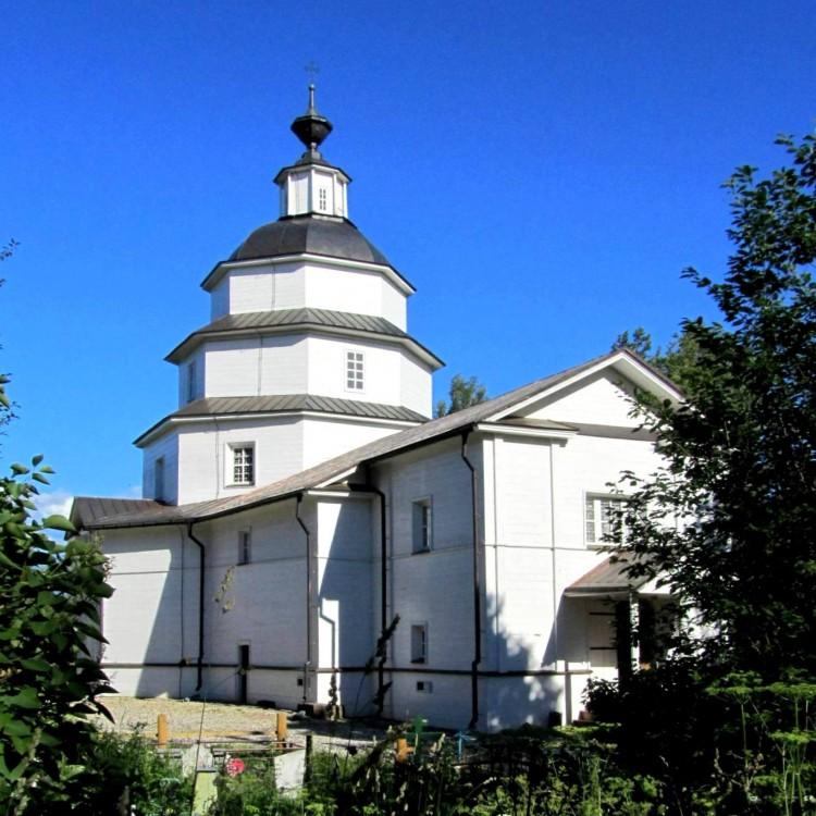 Вологодская область, Кирилловский район, Ципино. Церковь Илии Пророка, фотография. фасады, вид с северо-запада