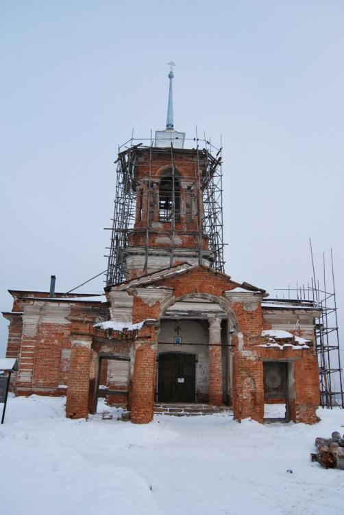 Церковь Рождества Христова, Липовское