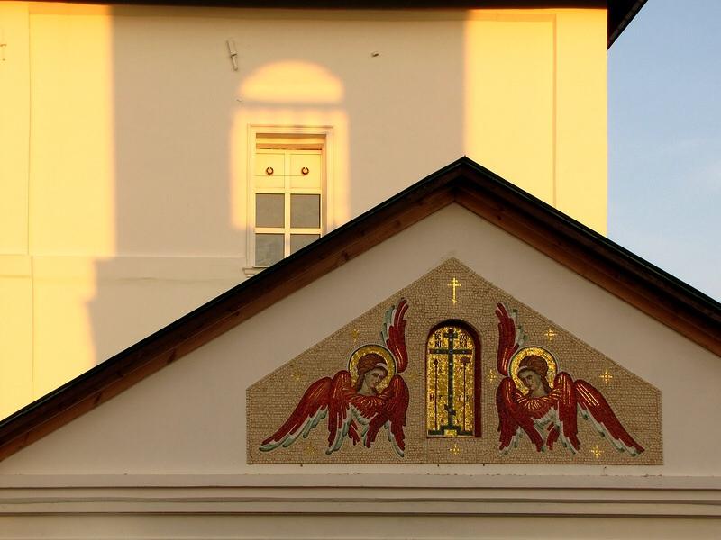 Рязанская область, Скопинский район и г. Скопин, Дмитриево. Димитриевский мужской монастырь, фотография. архитектурные детали