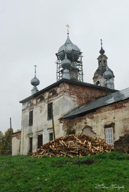 Церковь Успения Пресвятой Богородицы, Порздни