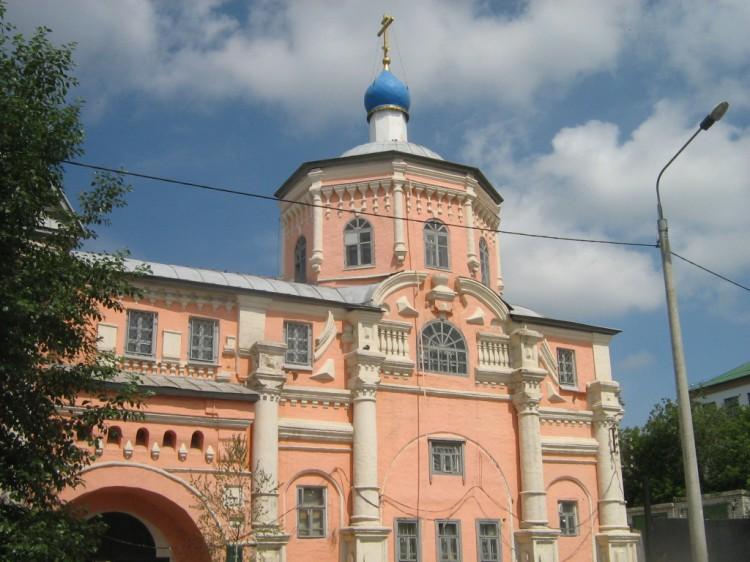 Кизический Введенский монастырь. Церковь Владимира равноапостольного, Казань