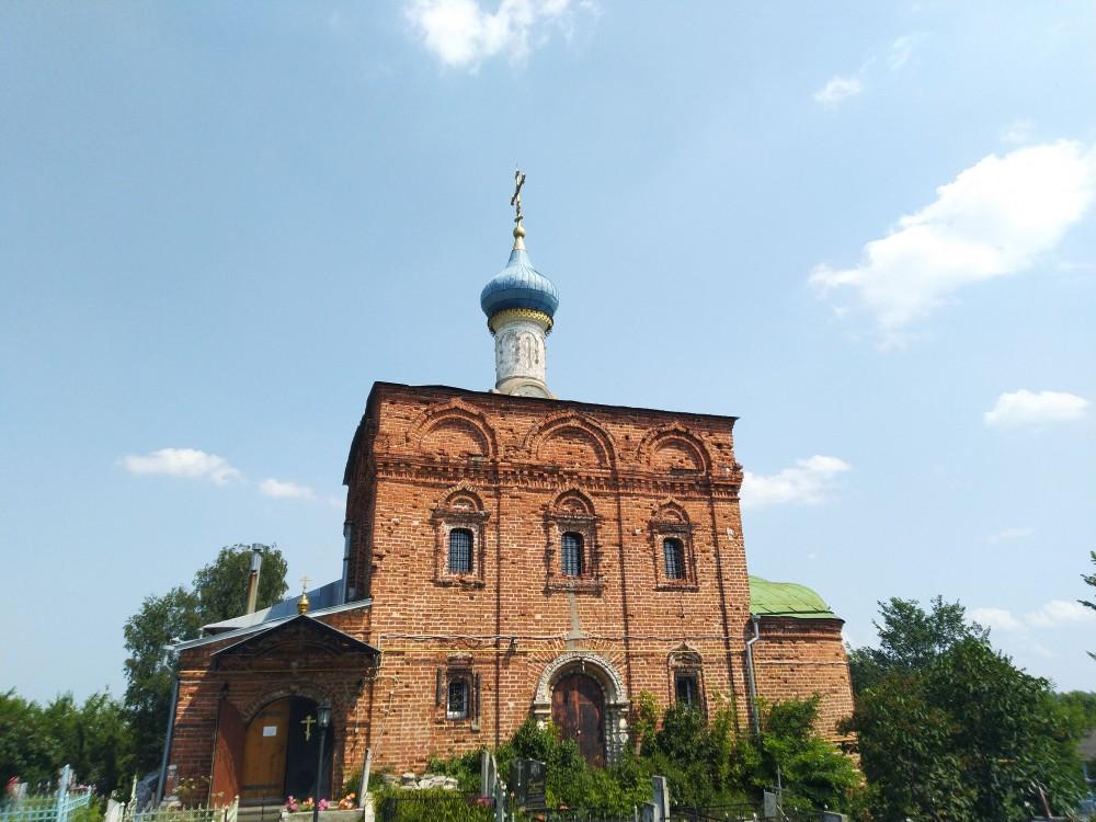 Рязанская область, Рязань, город, Рязань. Церковь Богоявления Господня, фотография.