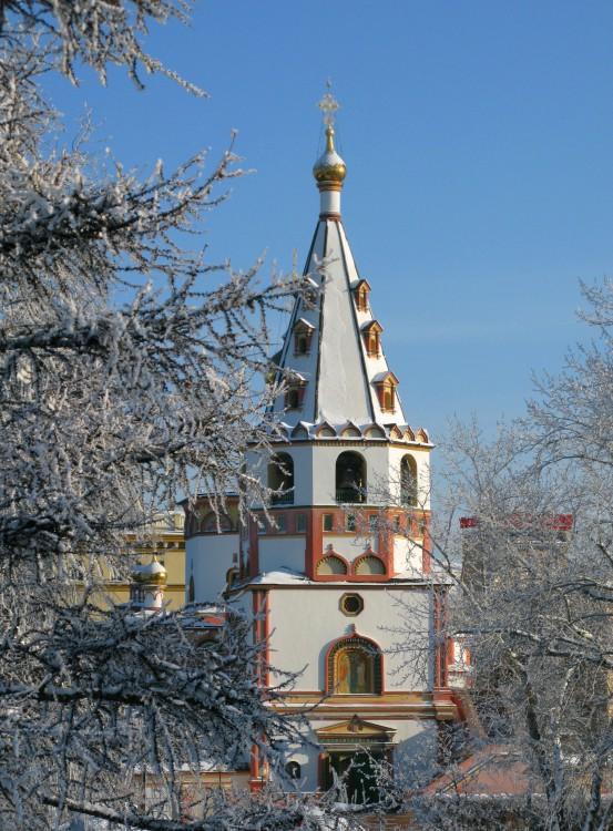 Иркутская область, Иркутск, город, Иркутск. Собор Богоявления Господня, фотография. художественные фотографии