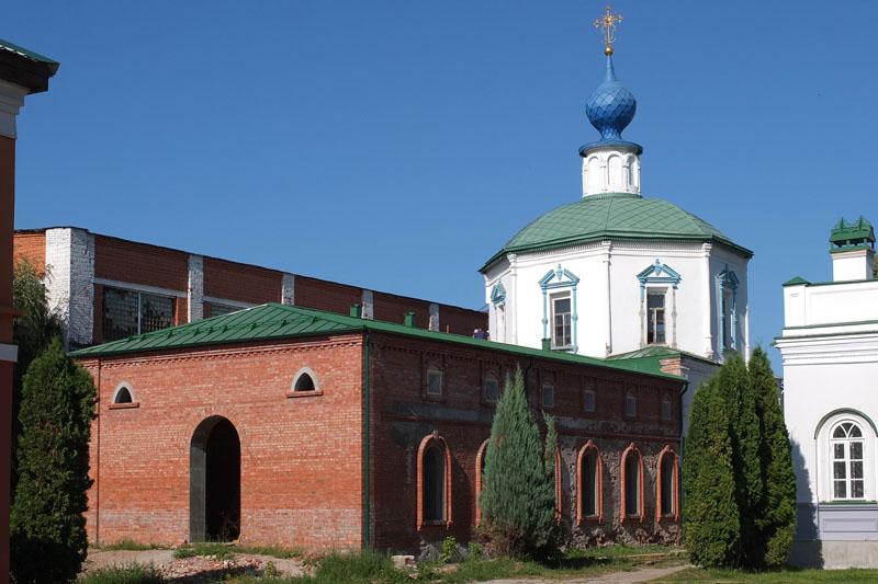 Троицкий мужской монастырь. Собор Троицы Живоначальной, Рязань