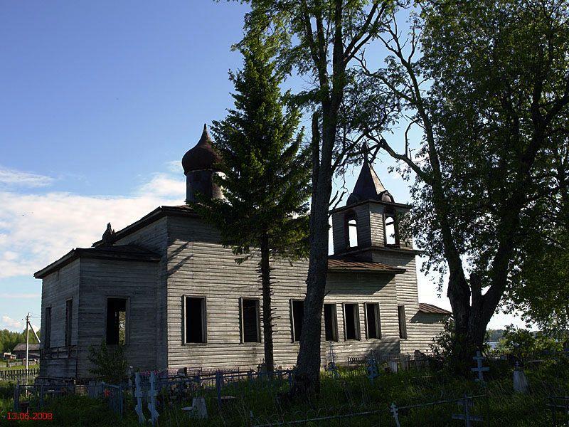 Церковь Спаса Преображения, Макарьевская