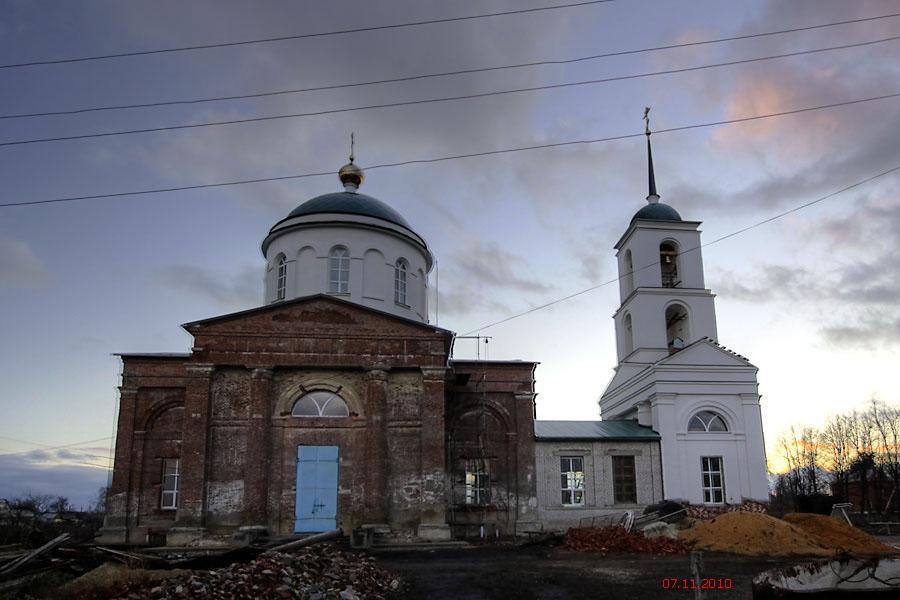 Церковь Спаса Нерукотворного Образа, Трубетчино