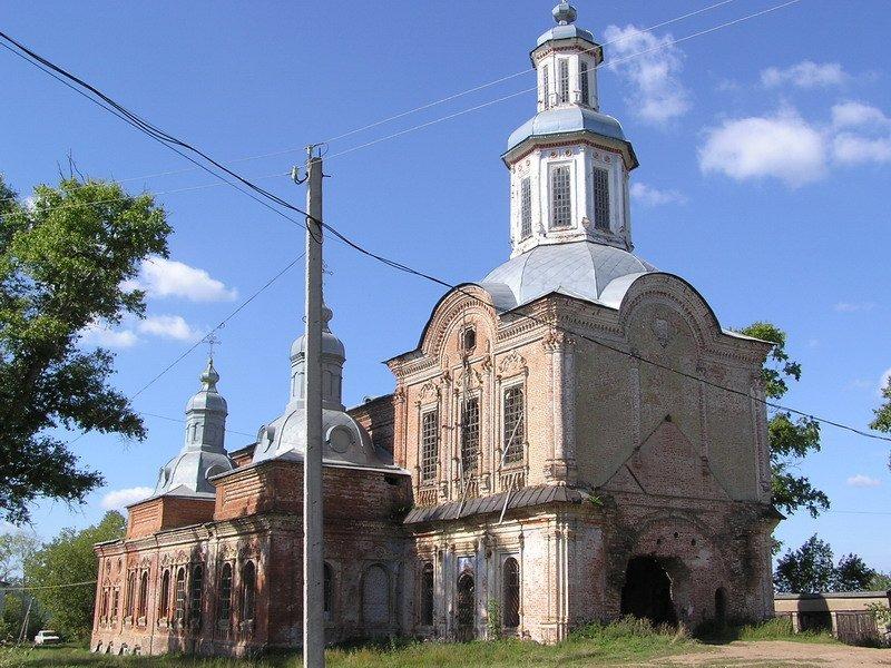 Церковь Воскресения Христова, Суна