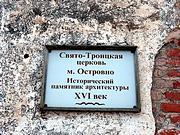 Церковь Троицы Живоначальной - Островно - Бешенковичский район - Беларусь, Витебская область