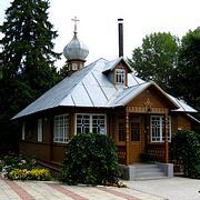 Куремяэ. Успенский Пюхтицкий женский монастырь. Крестильная церковь Иоанна Предтечи и Исидора Юрьевского на Горке