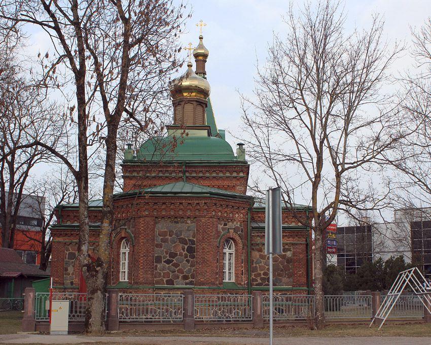 Эстония, Ида-Вирумаа, Йыхви (Jõhvi). Церковь Богоявления Господня, фотография. фасады, Восточный фасад