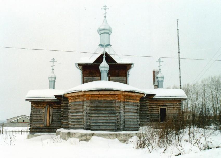 Церковь Георгия Победоносца (строящаяся), Уляхино